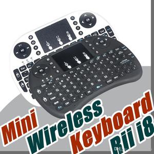 20X Rii i8 Clavier Souris Télécommande sans fil 2,4 GHz Combo Touchpad Clavier Pour U1 16 S905 MXQ PRO, M8S WIFI Bluetooth Android TV BOX B-FS