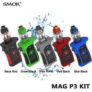 SMOK Mag P3 Starter Kit 230W con 9 ml serbatoio TFV16 Con conico Mesh bobina IP67 impermeabile sigaretta elettronica BOX Mod Kit 100% autentico