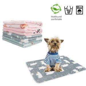 따뜻한 담요 개 매트 농축 봉제 고양이 개 패드 사계 범용 기계 세척 애완 동물 나머지 러그를 양면