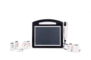 4D HIFU 160000 líneas 12 líneas 8 cartuchos anti arrugas de la cara de elevación estiramiento de la piel corporal adelgazante HIFU 4D 3D