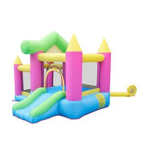 Parti İçin Şişme Atlama Kaleler Kiralık Ticari Yeni Prenses Bouncy Castles Şişme Bouncy Castle Ucuz Şişme Bouncer Slayt