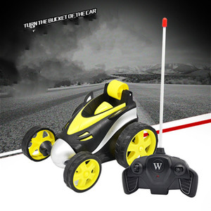Telecontrol battery power roll special effect telecontrol truck multi-function four-wheel vehicle jouets pour enfants fall resistant RC Car