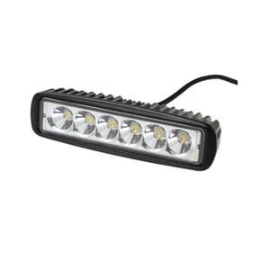 16-дюймовый 18W 8D объектива LED Work Light Bar Automobile Пятно луча потока дальнего света для Offroad Грузовик SUV автомобилей Стайлинг