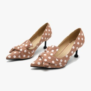 2020 femmes Pumps Chaussures Femme Talons Sexy Bow Toe Pointu Talons Chaussures pour dames hengscarying Zapatos magasins officiels