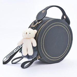 Cute Lovely Cartoon Bear Doll Stuffed Toys DIY Valentine Gifts Wedding Pendant Wedding Home Decoration Supplies