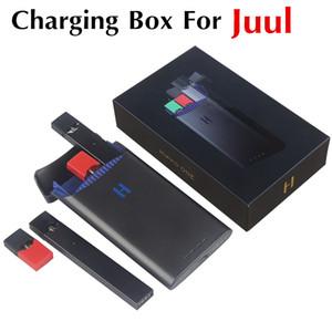 Neueste ursprüngliches Hippo ONE Energienbank für JUUL Vape Pen 1500mAh tragbaren E-Zigarette Charging Pods Fall Halter Box Fall leicht herausnehmen