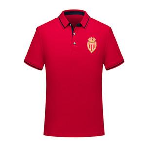 2020 as monaco fc Soccer Polo Shirt мужчины футбол поло с коротким рукавом мода спортивные тренировки поло футбол Футбол футболка Джерси мужские Поло