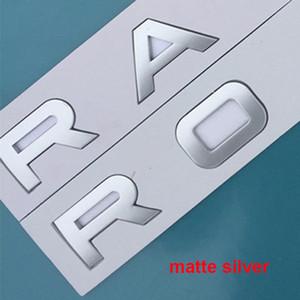 RANGE ROVER VELAR SV Otobiyografi Ultimate Edition KEŞİF SPOR Araba Şekillendirme Hood Gövde Logo rozeti Sticker için Mektupları Amblem