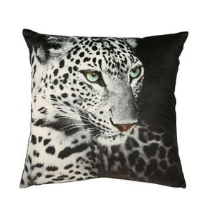 DUNXDECO Cushion Cover Decorative Pillow Case Modern Animal Leopard Print Soft Velvet Shame Home office Sofa Chair Coussin