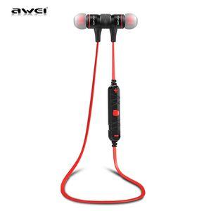 Awei A920BL Wireless Earphone Smart Wireless Bluetooth V4.1 Sports Stereo Earphone Noise Reduction with Mic Sport Headphone 55mAh battery