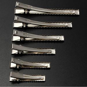 O transporte da gota metal do cabelo jacaré Clipes 35 milímetros / 40 milímetros / 45 milímetros / 55 milímetros / 65 milímetros / 75 milímetros para o estilo do cabelo Ferramentas Accessories200pcs