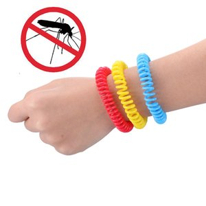 5pcs Mosquito Repellent Bracelets Pest Control Insect Protection Outdoor Indoor Anti-Mosquito Hand Strap For Adults Kids