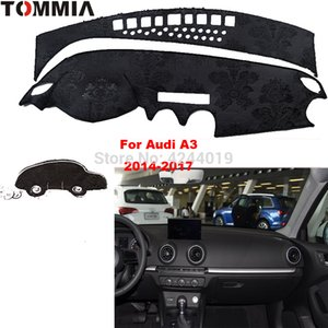 TOMMIA Dashboard Cover Dash Mat para coche Sun Shade ANTI-UV Dash Pad Car Dashboard Mat para A3 2014-2017