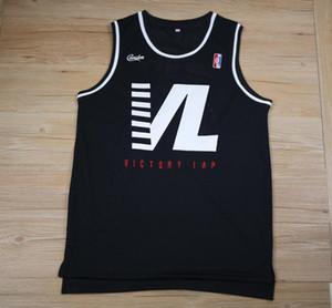 HOMBRES MUJERES personalizado cualquier nombre cualquier n2020 noticias uNipsey Hussle Crenshaw Victory Lap Cover Baloncesto Hip Hop Rap Jersey tamaño S-XXL