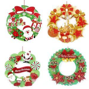 Feliz Navidad Flash Powder Sticker Hotel Display Window Originality Stickers Opp Packing Venta caliente Popular 5 5pj J1