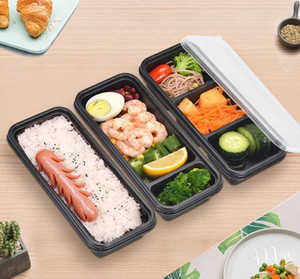 Disposable Microwave Plastic Food Storage Container Safe Meal Prep Containers For Home Kitchen Food Storage Box SN3547