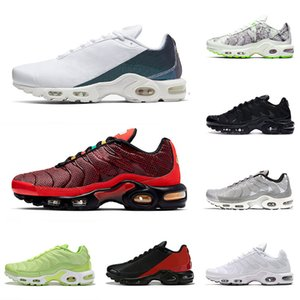 nike air max airmax plus tn air mercurial plus ultra se vapormax Hommes Femmes Chaussures de course New Bred Just do it Triple Noir Blanc Baskets Baskets