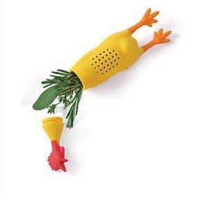 Crier Poulet Silicone Boîte À Épices Assaisonnement Boîte Épices Assaisonnement Filtre Creative Home Cuisine Cuisine Outils HHA648