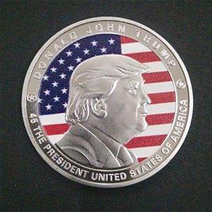 2020 Donald Trump Pièce commémorative Metal America Président Collection Pièces de monnaie Keep Badge américain à nouveau Round 3 5fy E1