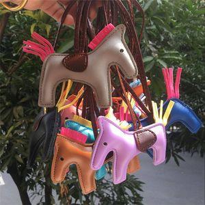 Ремни сотовый телефон Шарм кожа пони сумка аксессуары PU Tassel Универсальная сумка украшения брелок многоцветной Lanyard 16 цветов
