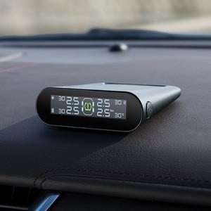 70mai presión de los neumáticos del sensor de presión de neumáticos Sistema de Monitoreo de la energía solar LCD Xiaomi 70 Mai Seguridad TPMS coche sistema de alarma