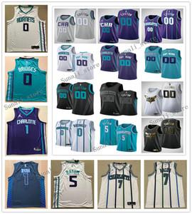Printed Men Nicolas 5 Batum Terry 3 Rozier III Bismack 8 Biyombo Cody 40 Zeller Jerseys Basketball Sports Shirts