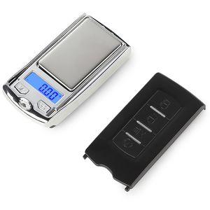 실버 동전 골드 다이아몬드 보석 무게 밸런스 자동차 키 디자인 0.01 무게 전자 미니 정밀 디지털 저울 무료 DHL 저울