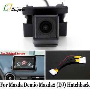 Para Demio 2 28 2 Interfaz de DJ de 5 puertas Hatchback / Pin de la cámara reversa para la original de la pantalla Compatible Cámara de vista trasera