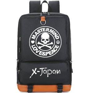 Love Peace Rucksack X Japan Tagesrucksack Master Mind Schädel Schultasche Freizeit Packsack Laptop-Taschenrucksack Sportschultasche Outdoor-Tagesrucksack