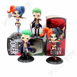 QPosket Suicide Squad Joker Harley Quinn Action Figure PVC Modello da collezione Toy QPosket Doll Giocattoli per bambini