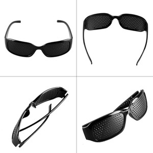 High Quality Style 1 PCS Unisex Glasses Anti-fatigue Stenopeic Pinhole Eyewear Eyesight Improve Vision Care Sunglass