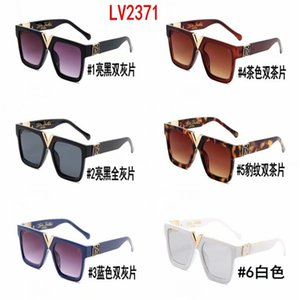 2371 Hot Sale Brand Design Sunglasses Vintage Pilot Brand Sun Glasses Band UV400 Men Women Ben Metal Frame glass Lens with box 3025