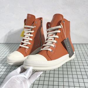 Ro Shose Men Beige Orange Mens Spring Winter Boots High Top Mens Fall Winter Sneakers 11#22 20d50
