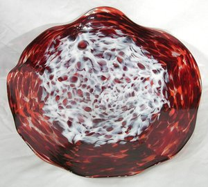 Art Glass Wall Plates Craft Best Quality 100% Hand Blown Murano Glass LED Wall Lamp Wall Sconce