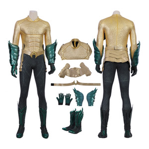 Aquaman Costume Aquaman Cosplay Arthur Curry Full Set