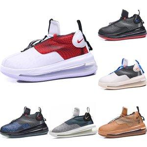2020 Vagues cuir et tricot sport coupe-bas originaux Chaussures Waves Tous Air Zoom Cshioning Hauteur Chaussures augmentation