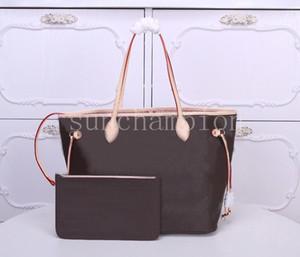 borsa a tracolla delle donne classica borsa secchiello Shopping bag due pezzi insieme con il raccoglitore signore Louiss borse viutton famosi con numero di serie