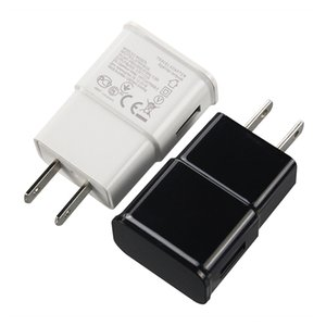 100pcs / lot 5V 2A 1A AC USB Port Power Wall Charger 2 Amp Adapter Travel US EU Plug For Samsung Wall Charger Wholesale