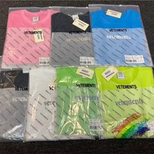 Nouvelle couleur T-shirts Hommes Femmes 3D Impression Haut T-shirts Streetwear T-shirt