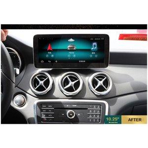 Hualingan For A B CLA GLA NTG5.05.1 Android car multimedia navigationsystem Octa Core 4G internet 64G storage WIFI Carplay GPS