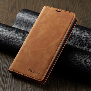 2019 nova capa de couro carteira magnético flip para Iphone 11 pro Xs Max X 7 6 6s mais 5 smausng s10 Huawei p30