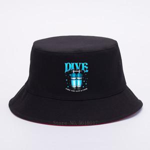 Dalış Like You Got a Pair Komik Tüplü Dalış Divers Pun Kadınlar Erkekler Nefes Pamuk Düz Üst Bucket Şapka Güneş Cap Balıkçı şapkası