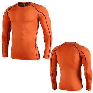 Erkek Trainig Tshirts Evler Basamak Joger Aktif tişörtleri Brathable Bahar Giyim Baskı Leter İnce Uzun SLEV Tişörtler Tops