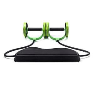 Ab Rolo Roda Com Mat abdominal instrutor Arm Roda Da cintura para o exercício de pé Multi-Funcional Fitness Equipment Exercício
