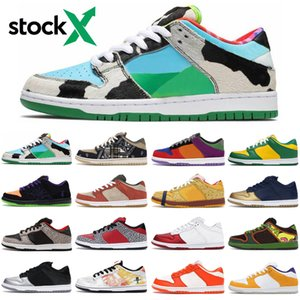 chunky dunky sb dunk low stock x men women running shoes outdoor platform mens womens trainers sports sneakers runners