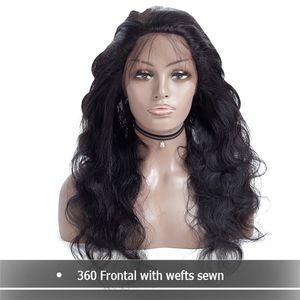 말레이시아 전체 밀도 360 레이스 정면가 발 페루 본문 웨이브가 발 360 레이스 전면 인간의 머리가 발 흑인 여성을위한 아기의 머리와 함께