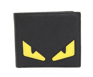 Europeu de moda de luxo designer bolsas bolsas PU azul Mini Card Wallet Titular do cartão de crédito de curto Femininos Bolsa de couro cor múltipla