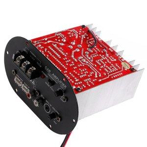 Amplificateur Conseil allume-cigare 12V haute puissance Amplificateur Subwoofer 120W pleine Pure Tone basse Caisson de graves de base 8-12 pouces