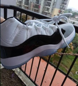 new kids Big boy Shoes 11s Concord 45 Platinum Tint Cap and Gown Prom Night Gym Red Bred Legend Blue mens Women trainers sports sneakers