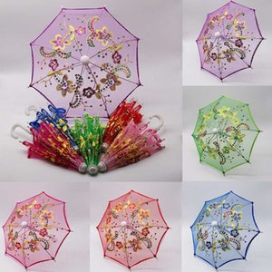 2019 Lace Umbrella Doll Accessories Handmade Doll's Umbrella Bordado Para Muñecas Accesorios de Juguete